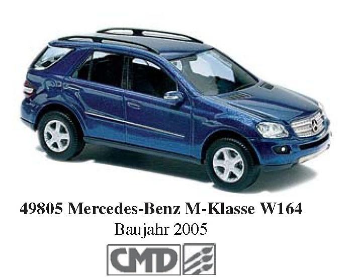 Mercedes Clase M -W164- (2005) CMC Busch 49805 1/87