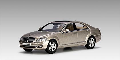 Mercedes Benz S500 SWB -W221- (2005) Autoart 56201 1:43