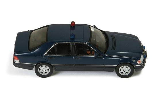Mercedes S600 -W140- Blindado Presidencia Rusa (1993) Ixo MOC102 1/43