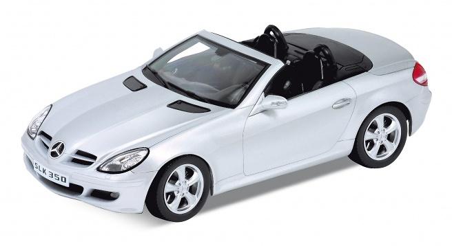 Mercedes SLK 350 abierto -R171- (2004) Welly 22462C 1:24