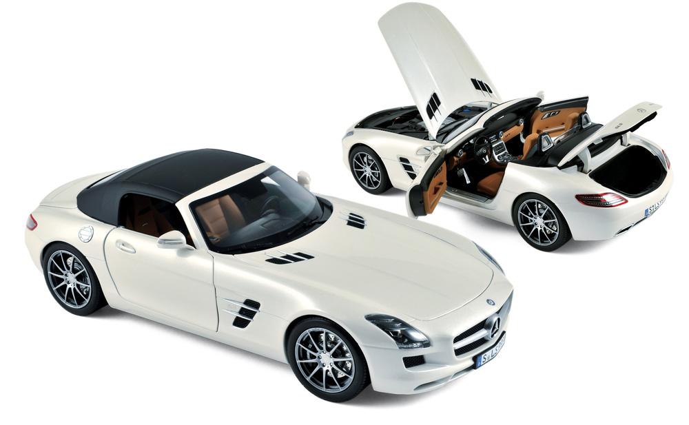 Mercedes SLS AMG Roadster (2011) Norev 183491 1:18
