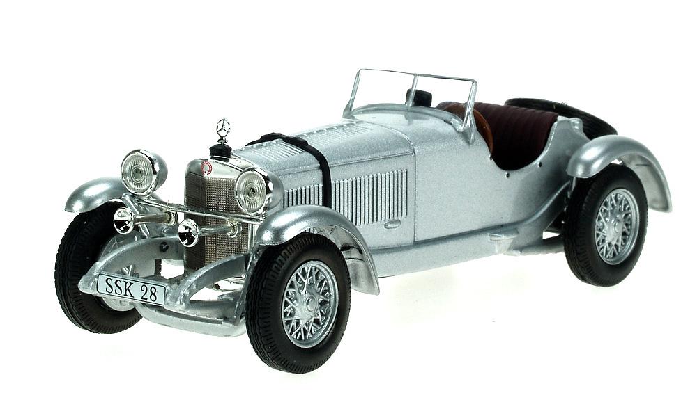 Mercedes SSK (1928) White Box 147359 1/43