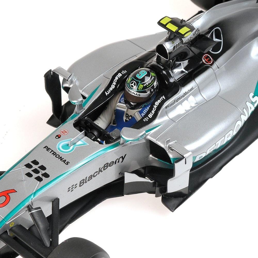 Mercedes W05 nº 6 Nico Rosberg (2014) Minichamps 110140006 1:18