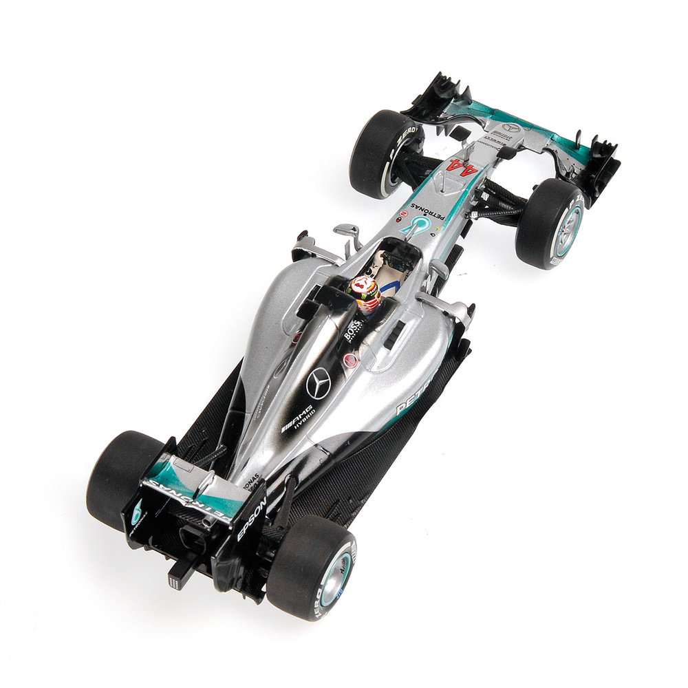 Mercedes W07 nº 44 Lewis Hamilton (2016) Minichamps 410160044 1:43