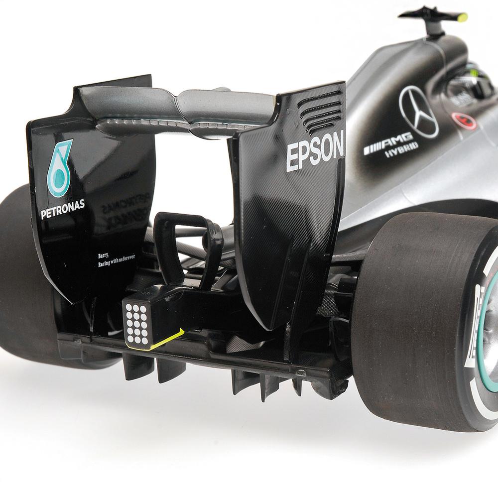 Mercedes W07 nº 6 Nico Rosberg (2016) Minichamps 110160006 1:18