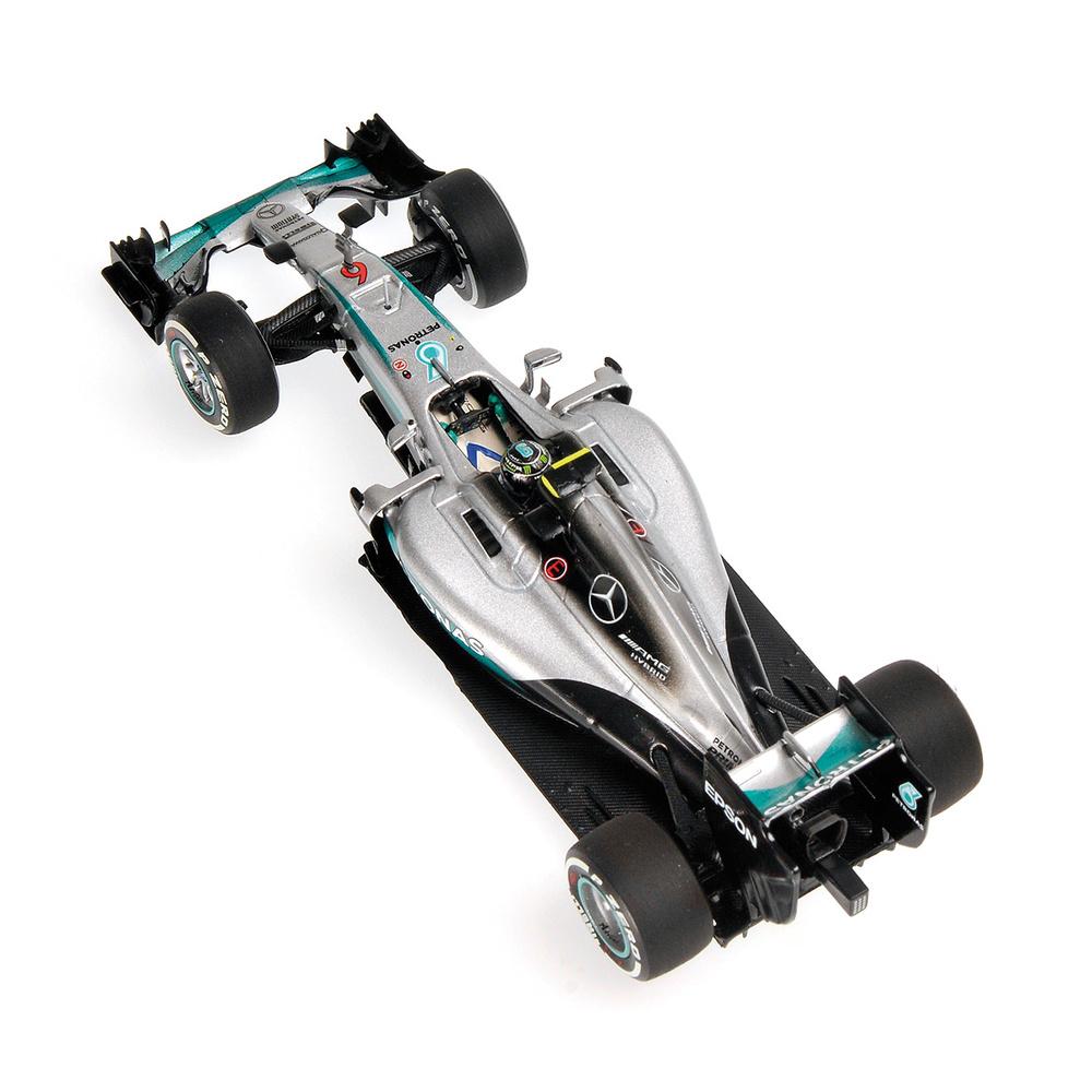 Mercedes W07 nº6 Nico Rosberg (2016) Minichamps 410160006 1:43