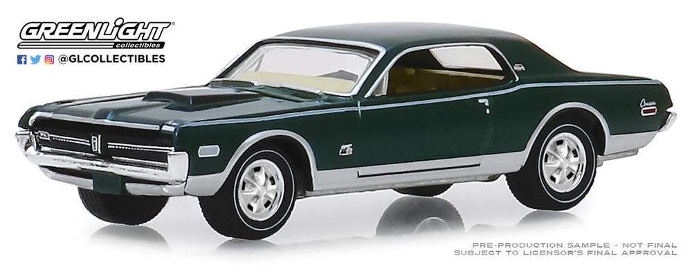 Mercury Cougar XR-7 GT-E 428 Cobra Jet (1968) Greenlight 28000A 1/64
