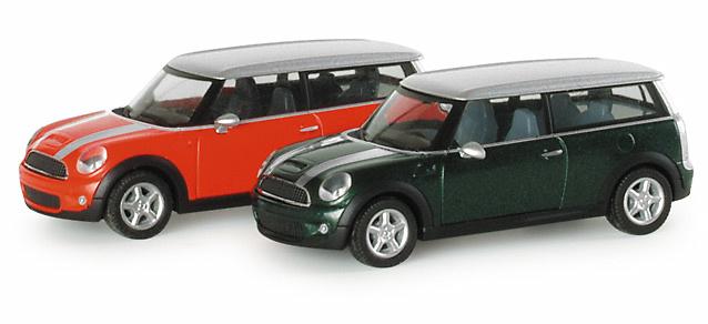 Mini Cooper S Clubman Herpa 023825 1/87