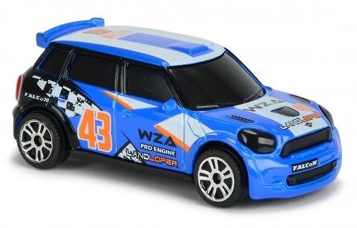 Mini Cooper WRC nº 43 (2012) Majorette 2084009 1/64