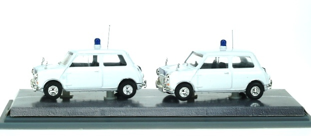 Mini Set Policia Metropolitana Tráfico Corgi MP1002 1/43