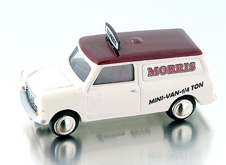 Mini Van Morris (1968) Bub 09152 1/87