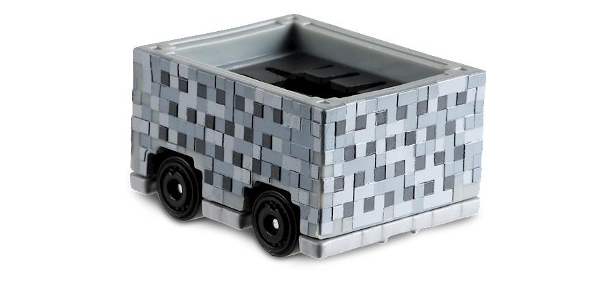 Minecart -Screen- (2018) Hot Wheels FYC96 1/64