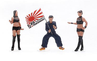 Mr. Kato & Show Girls Tipo A TSM Model MGTAC04 1/64