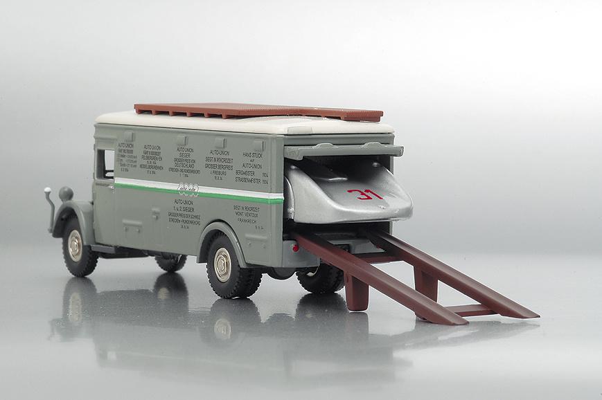 NAG BÜSSING Camión Oficial Bub 07350 1/87