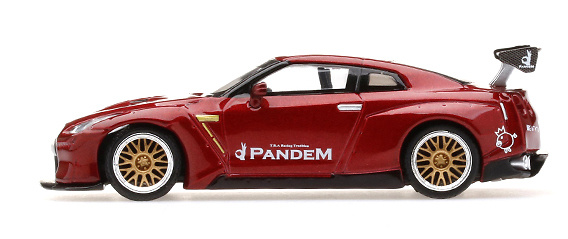 Nissan GT-R R35 Pandem GT Wing (2016) TSM MGT00092L 1/64