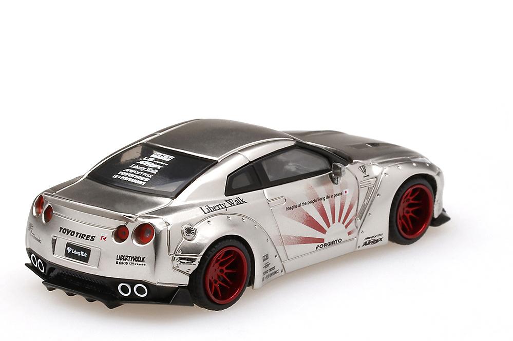 embalaje original Nissan GT-R 35 pandem Custom Blue ** mini GT Collection TSM Model 1:64 nuevo