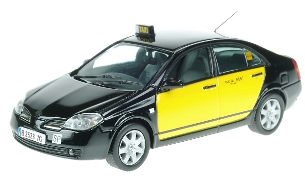 Nissan Primera Taxi Barcelona J-Collection JC064 1/43