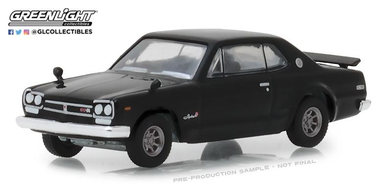 Nissan Skyline 2000 GT-R (1971) Greenlight 47010A 1/64