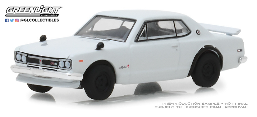 Nissan Skyline 2000 GT-R (1971) 47020B Greenlight 1/64