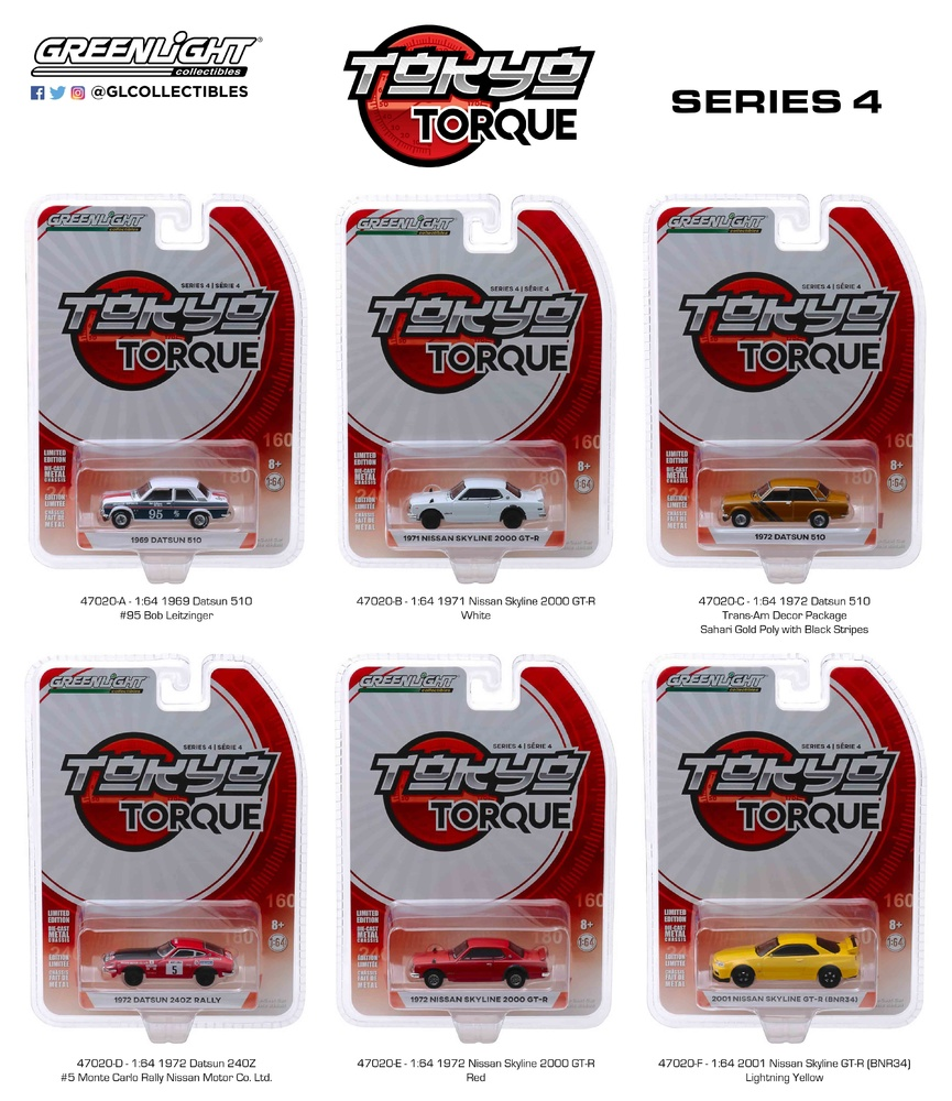 Tokio Torque serie 4 (2018) Greenlight 1/64