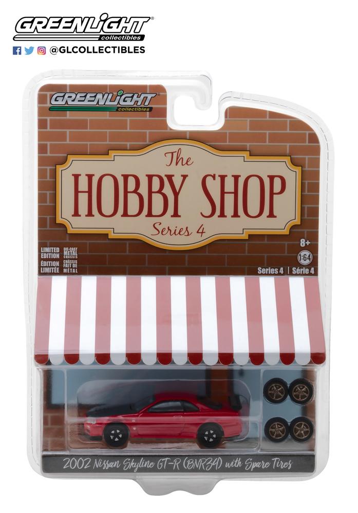 The Hobby Shop series 4 Greenlight 97040E 1/64