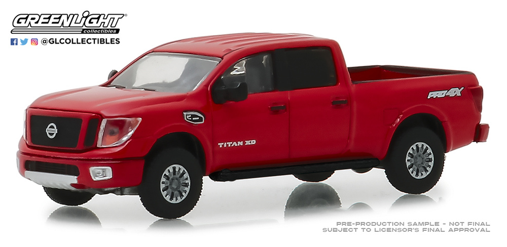35120-F 1:64 Blue Collar Collection Series 5 - 2018 Nissan Titan XD Pro-4X