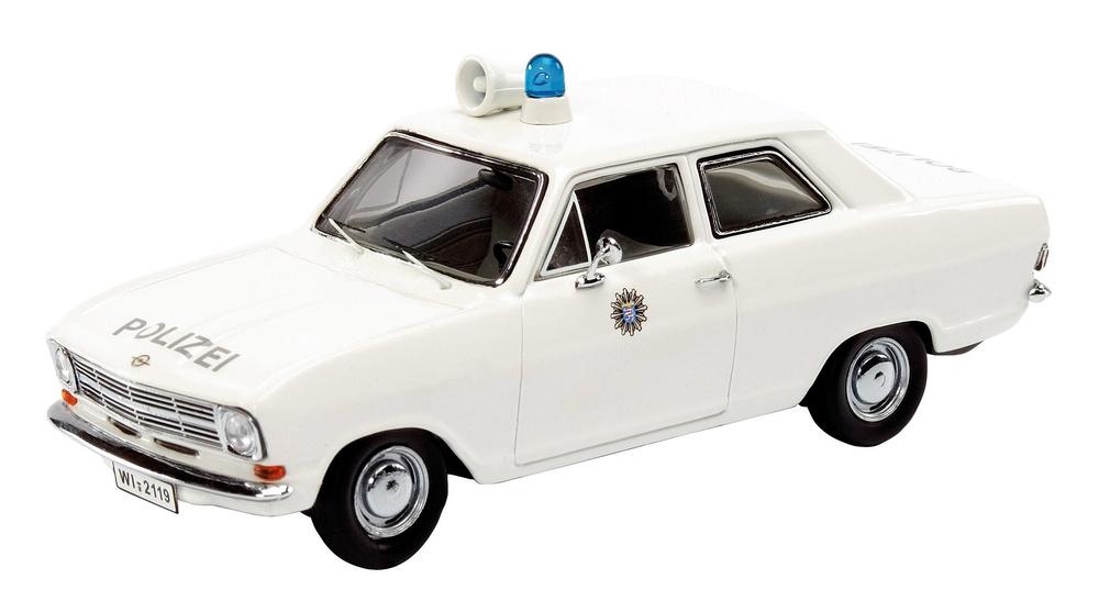 Opel Kadett B Policia Alemana Schuco 02943 1/43