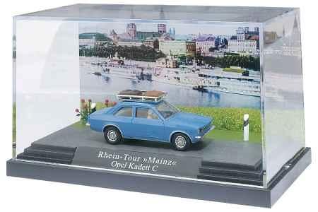Opel Kadett C (1977) Mini-diorama Busch 42104 1/87