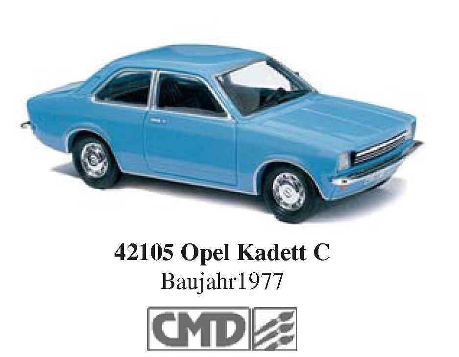 Opel Kadett C Serie CMD (1973) Busch 42105 1/87