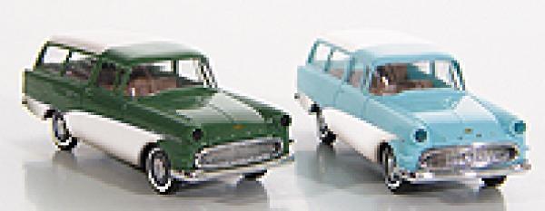Opel Rekord P1 Caravan (1958) Brekina 1/87