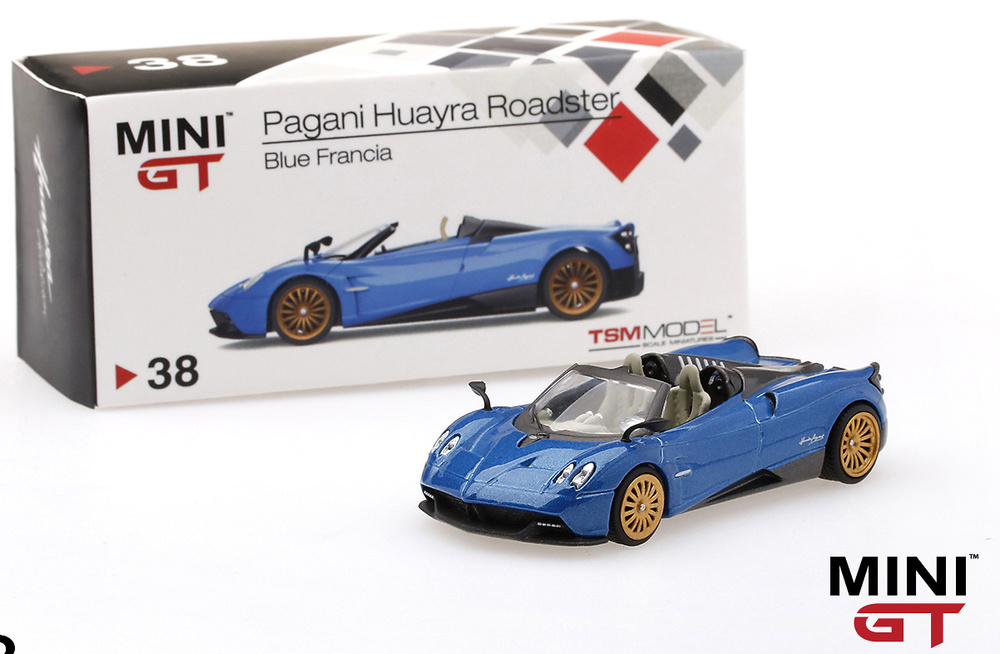 Pagani Huayra Roadster (2017) TSM MGT00038-L 1/64