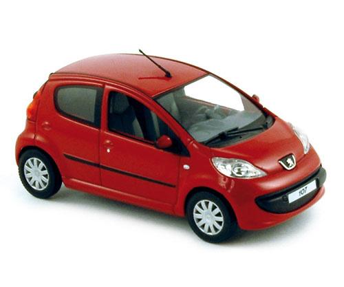 Peugeot 107 5P (2005) Norev 470177 1/43