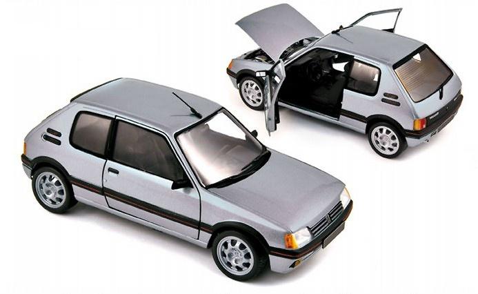 Peugeot 205 Gti 1.6 (1988) Norev 184852 1:18