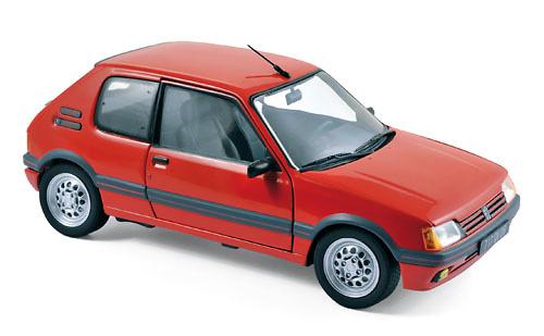 Peugeot 205 Gti 1.6 (1988) Norev 184853 1:18
