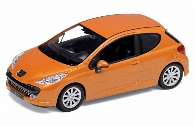 Peugeot 207 (2005) Welly 22492 1:24