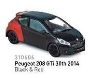 Peugeot 208 GTi 30th (2014) Norev 310606 1/64