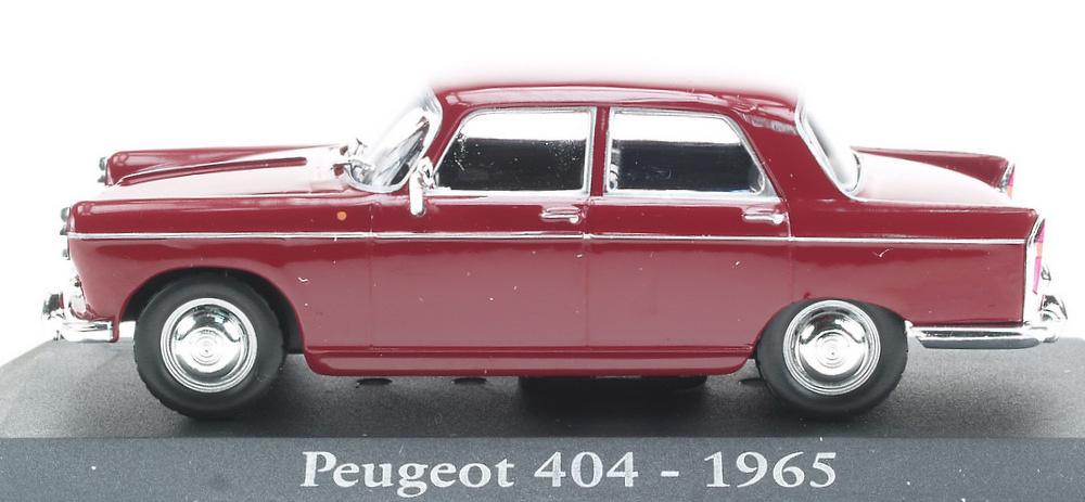 Peugeot 404 (1965) RBA Entrega 10 1:43