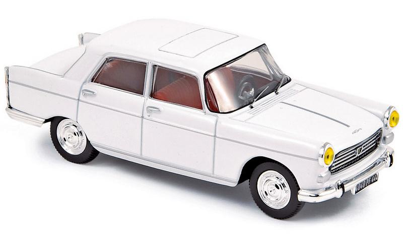 Peugeot 404 Berlina (1965) Norev 474438 1/43