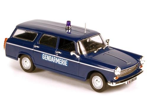 Peugeot 404 Break Gendarmerie (1969) Norev 474428 1/43