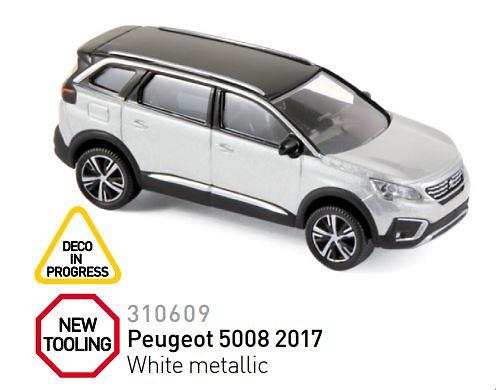 Peugeot 5008 (2017) Norev 310609 1/64