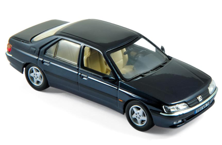 Peugeot 605 (1998) Norev 476502 1:43