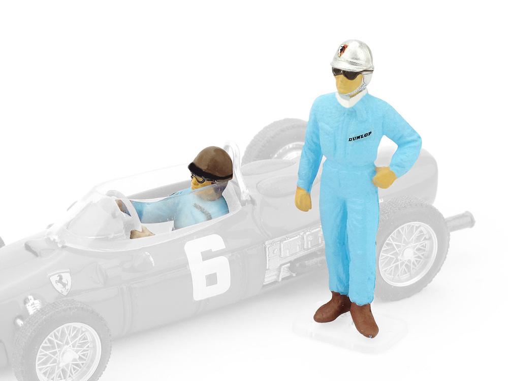 Pilotos Ferrari F156 Wolfgang Von Trips + Richie Ginther (1961) Brumm F086 1/43