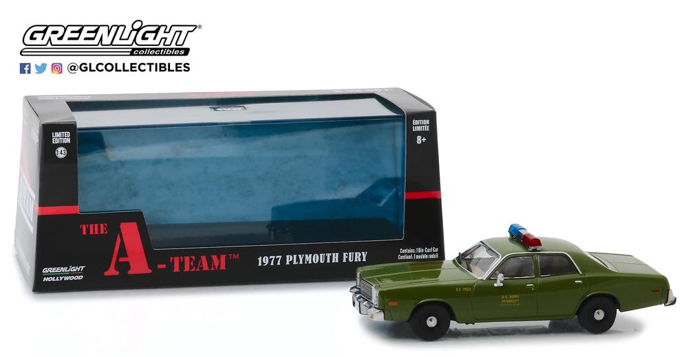 Plymouth Fury 1977 U.S. Policía