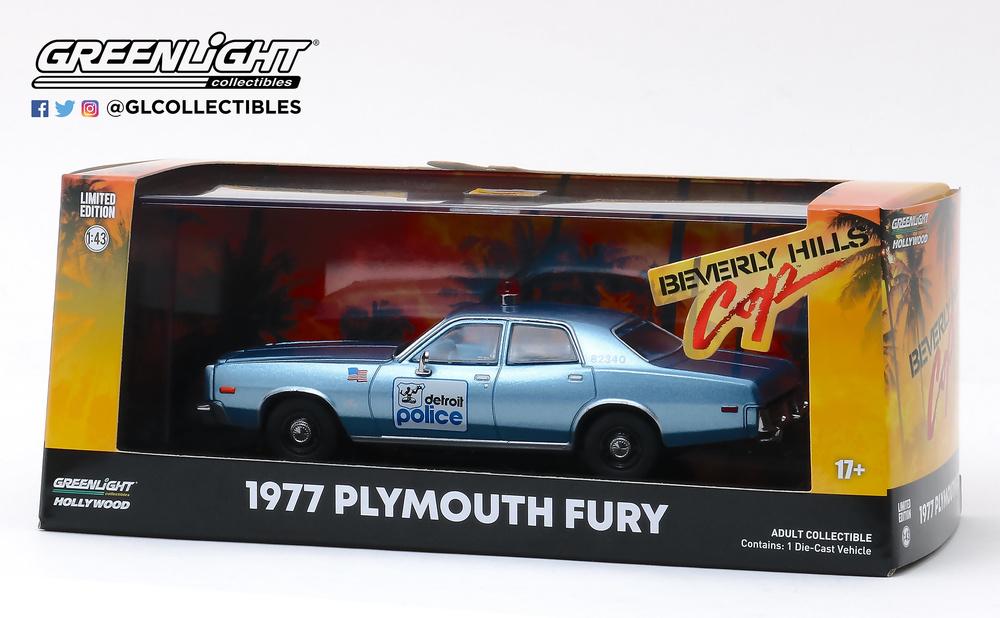 Plymouth Fury Policía de Detroit