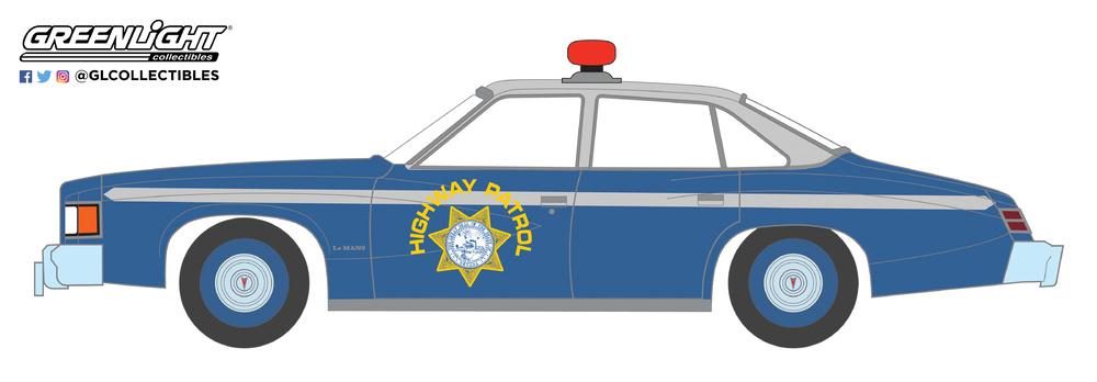 Pontiac LeMans Nevada Highway Patrol (1977) Greenlight 42860C 1/64