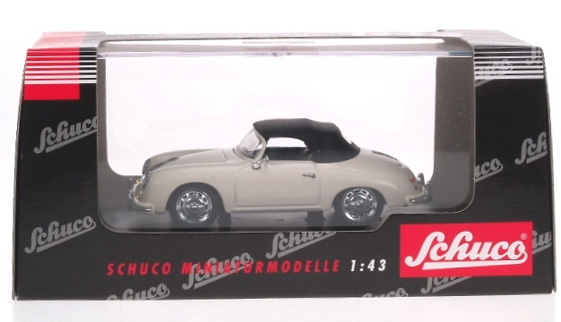 Porsche 356A Cabriolet Abierto (1955) Schuco 02691 1/43