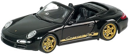 Porsche 911 Carrera 4S Cabriolet -997- (2005) Minichamps 400065331 1/43