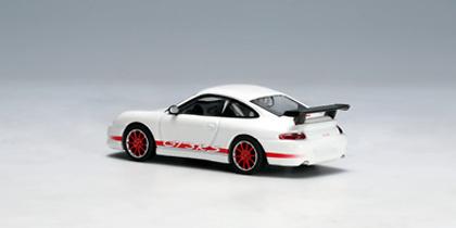 Porsche 911 GT3 RS llantas rojas (2004) Autoart 28031 1/64