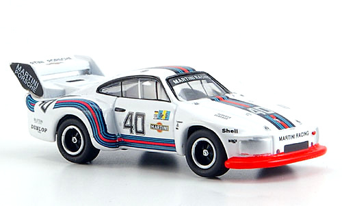 Porsche 935 Flatnose nº 40 Martini - Le Mans (1976) Bub 08875 1:87