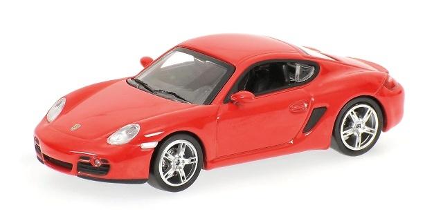 Porsche Cayman (2007) Minichamps 640065620 1/64